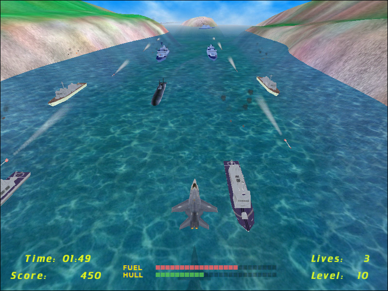 RiverRaider 2 is a fresh remake of River Raid