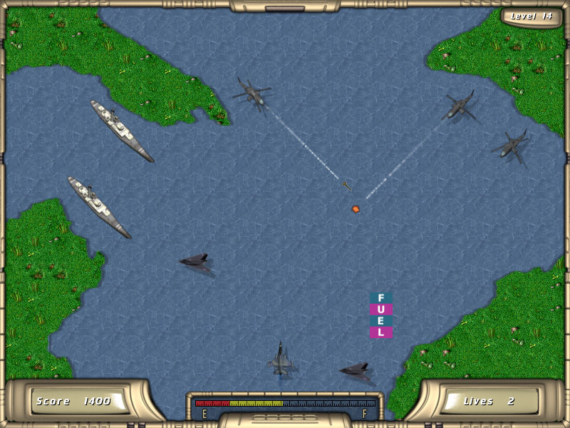 Click to view River Raider 1.0.9 screenshot